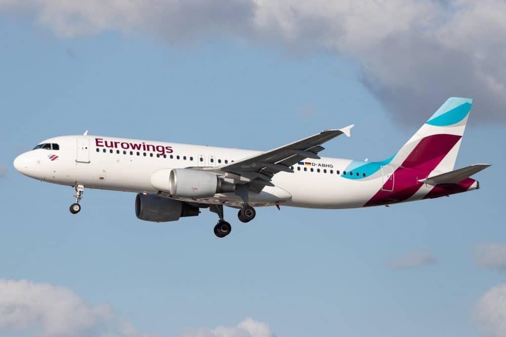 Eurowings Airplane