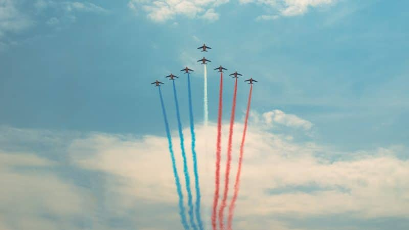 French Flag Sky