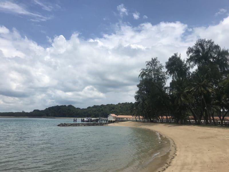 Singapur St John Island