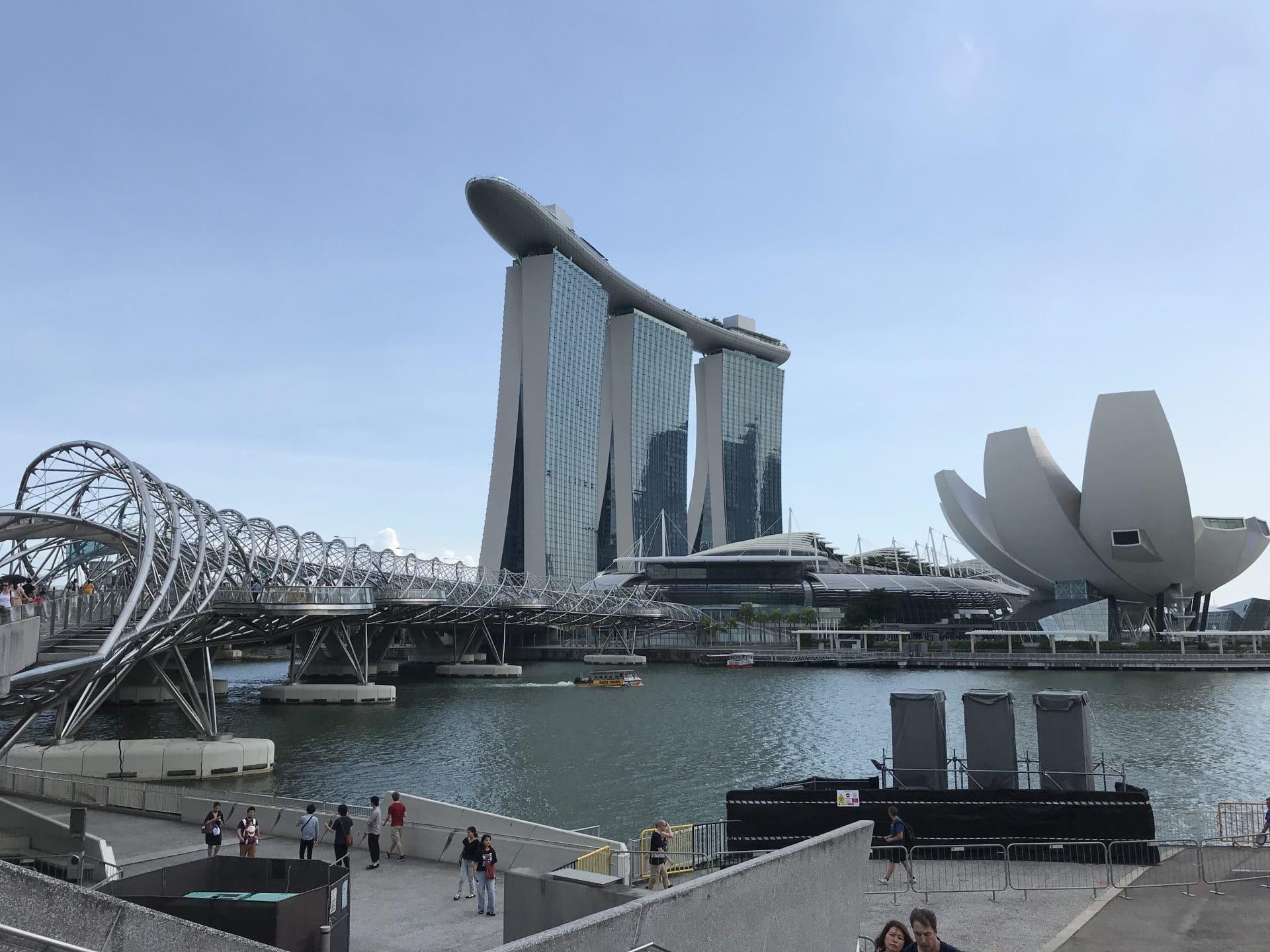 Singapur Marina Bay Area