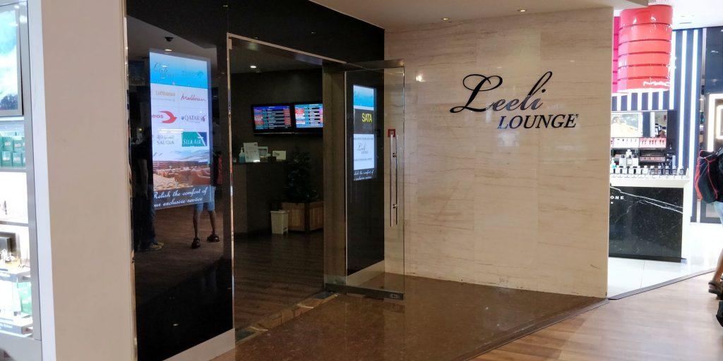 Leeli Lounge Male Eingang