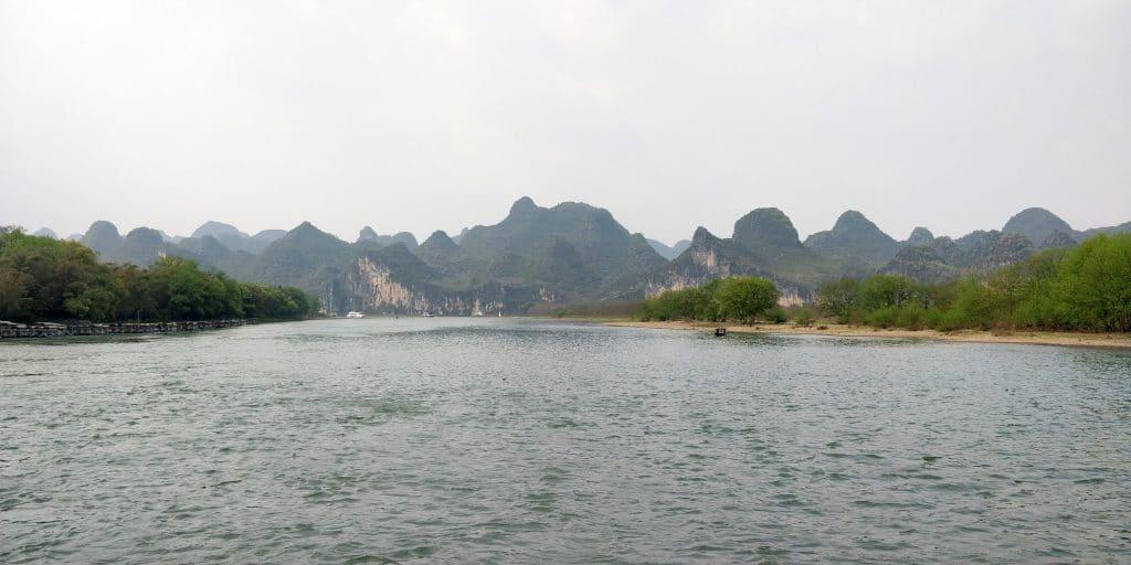 Li Fluss Kreuzfahrt Ausblick