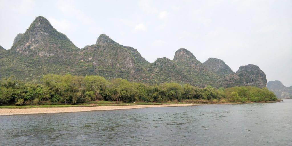Li Fluss Kreuzfahrt Ausblick 2
