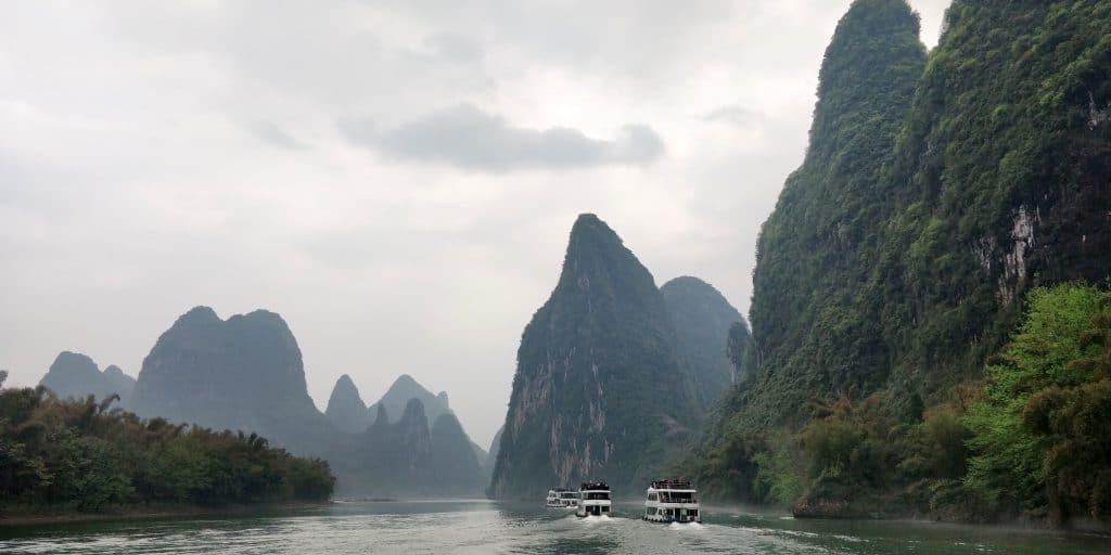 Li Fluss Kreuzfahrt Ausblick 7