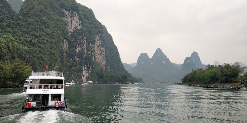 Li Fluss Kreuzfahrt Ausblick 8