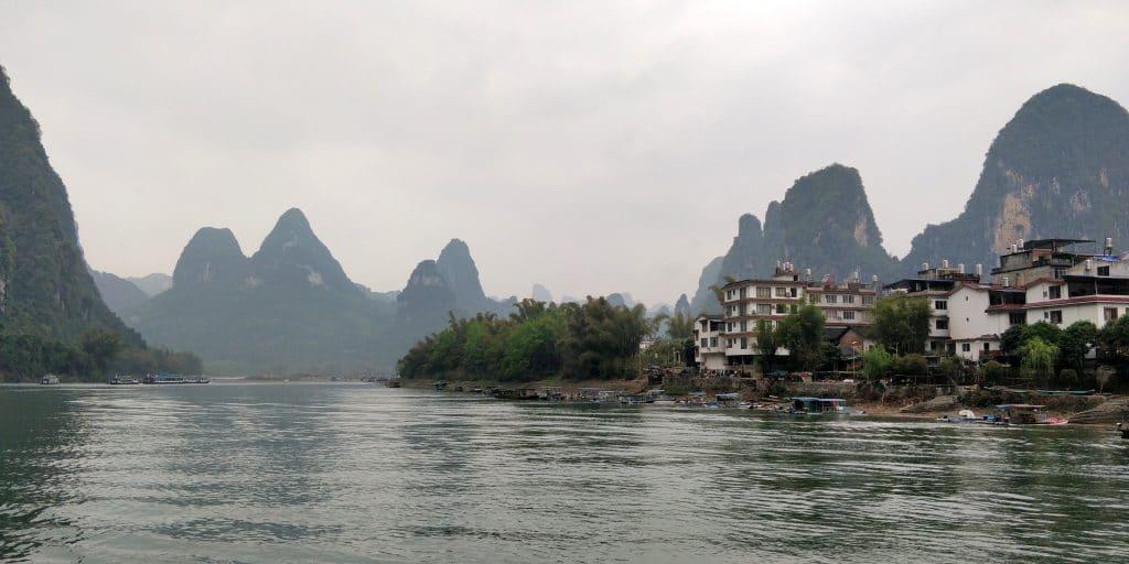 Li Fluss Kreuzfahrt Ausblick 9