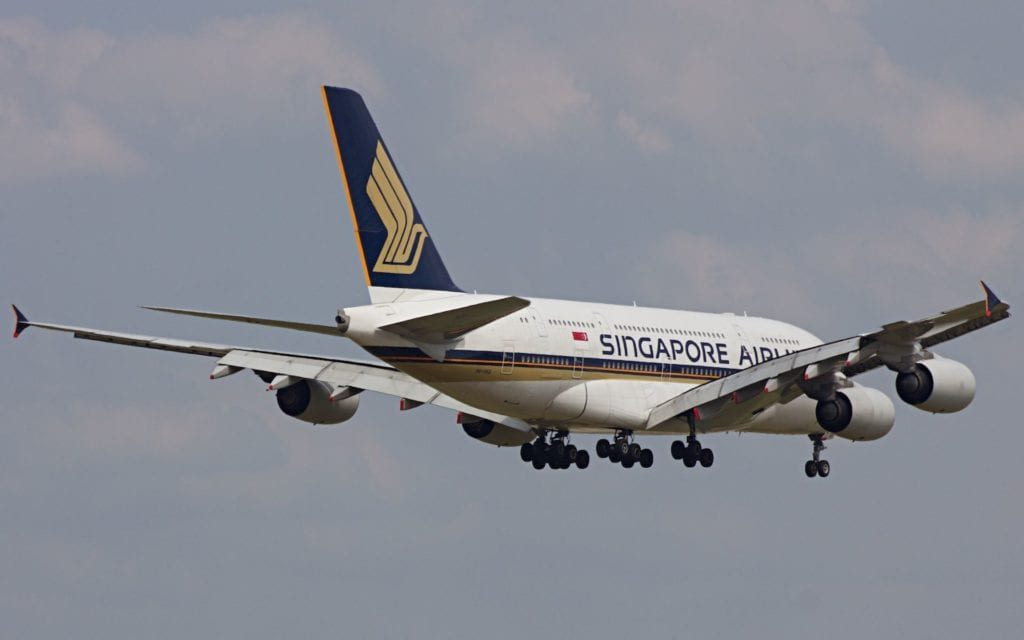 Singapore Airlines Airbus A380 1024x640
