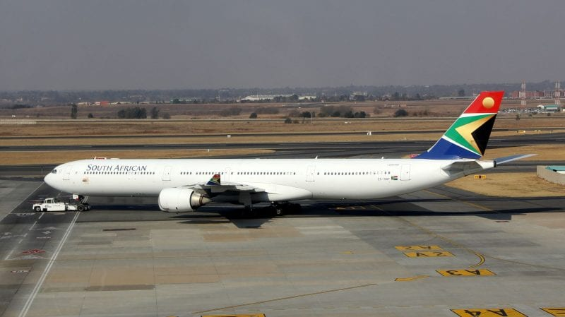 South African Airways Airbus A340 2 800x449