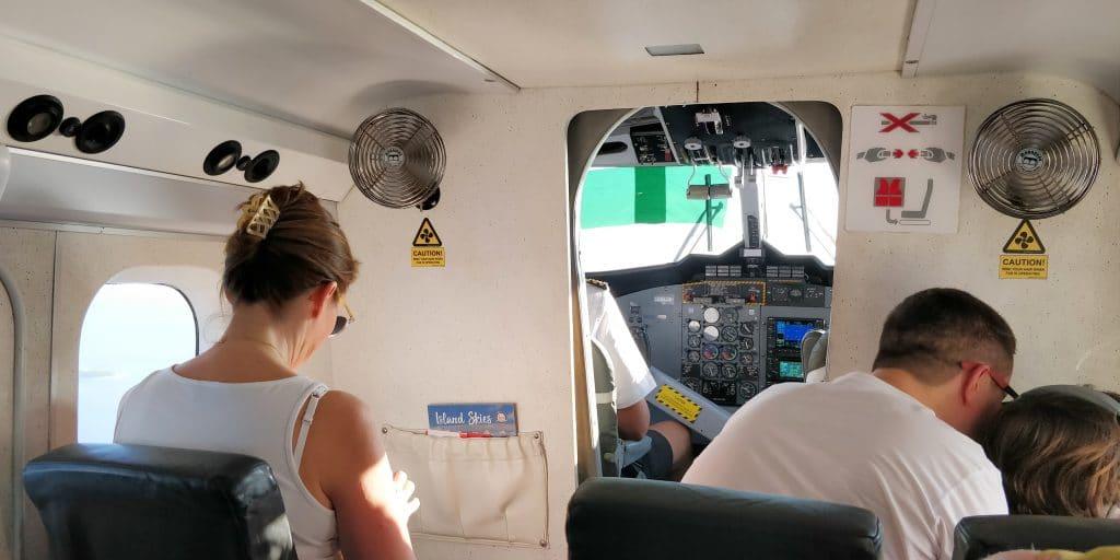 Trans Maldivian Airways Kabine 2
