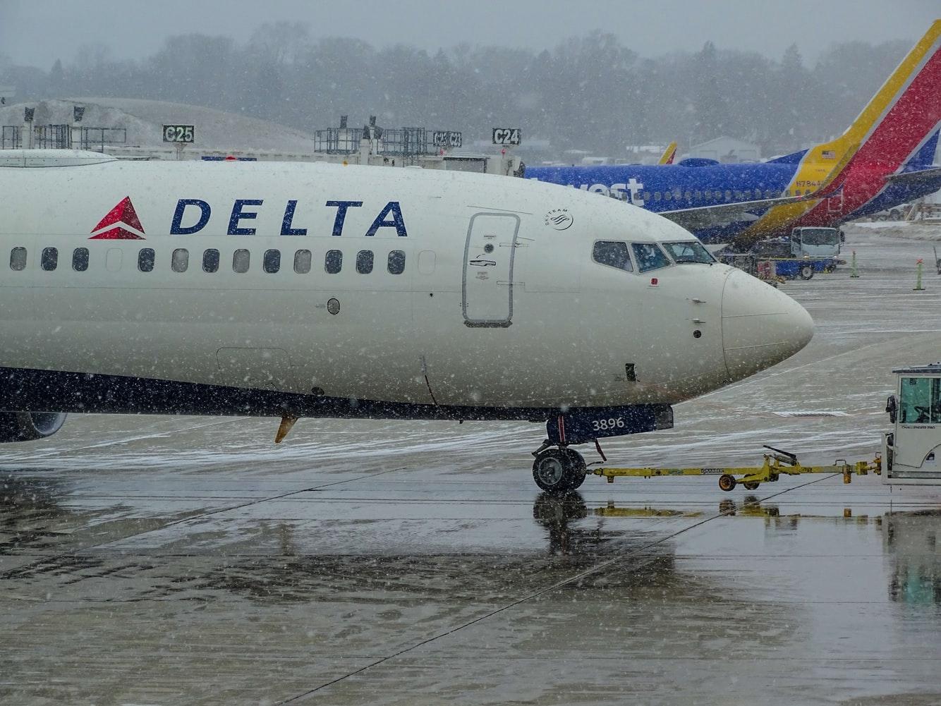Delta In Rain