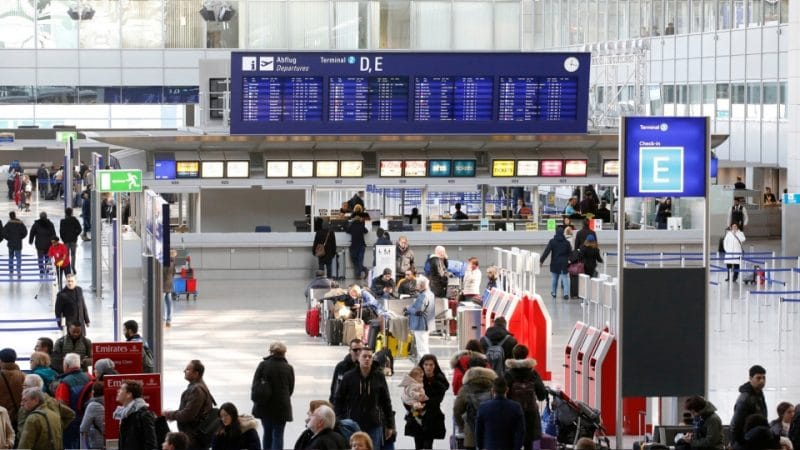 Frankfurt Flughafen/Airport Terminal 2
