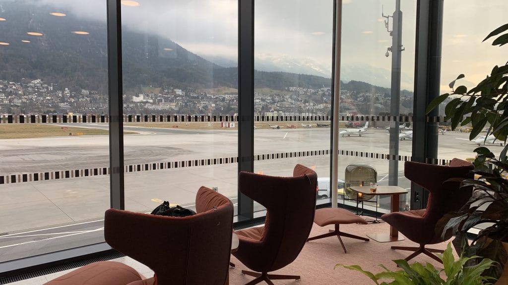 Tyrol Lounge Innsbruck Ausblick