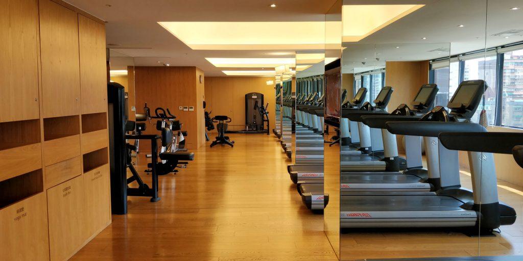 Grand Hyatt Taipeh Fitness 4