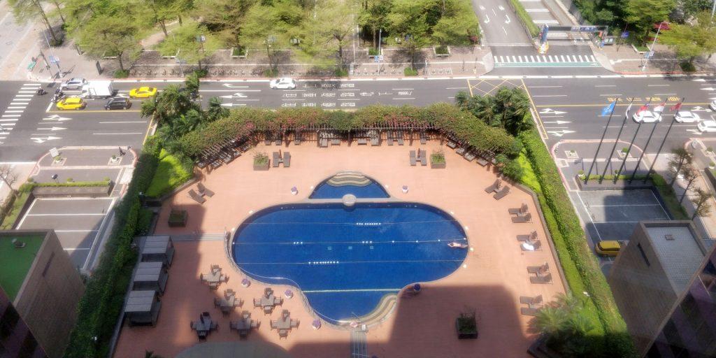 Grand Hyatt Taipeh Pool