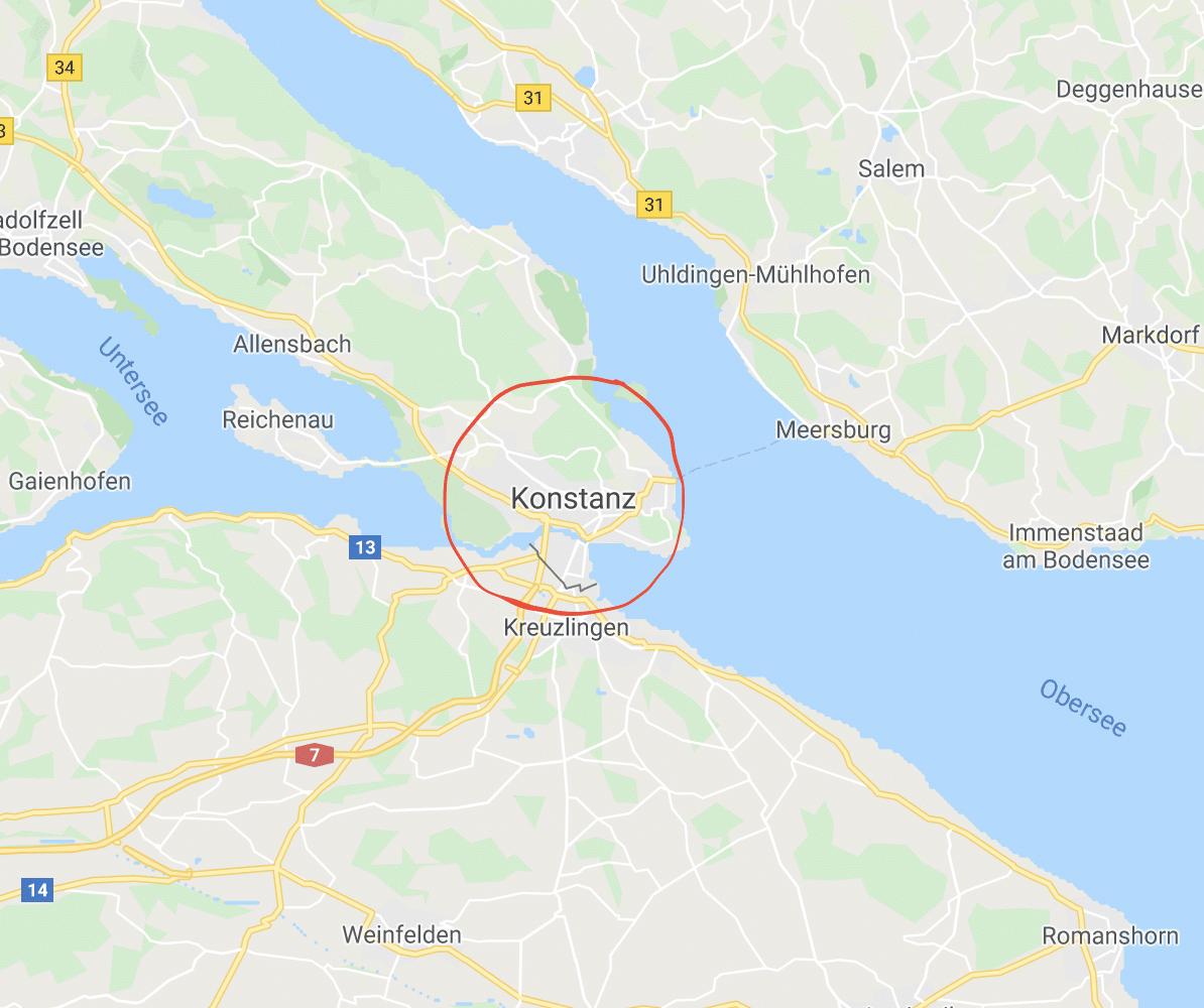 Grenzübergang Konstanz Kreuzlingen