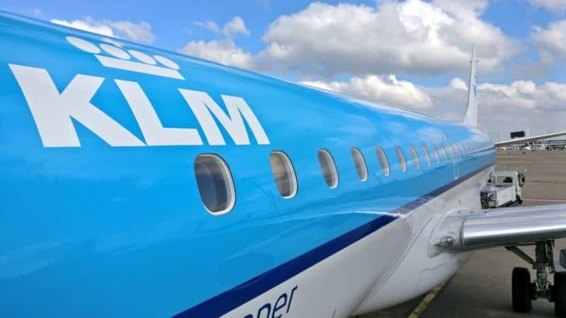 KLM Embraer 190 800x450