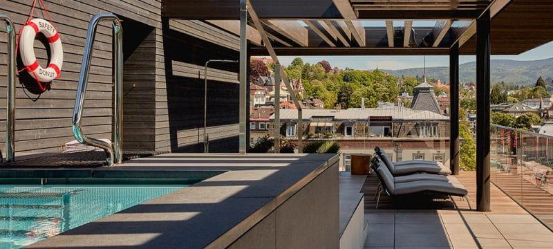 Roomers Badenbaden Rooftop View