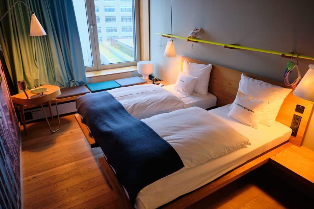 25hours Hotel Zürich Langstrasse Zimmer