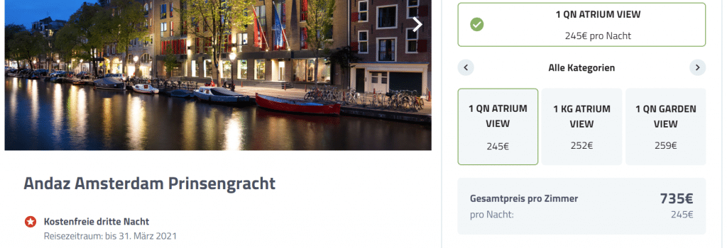 Andaz Amsterdam Promo