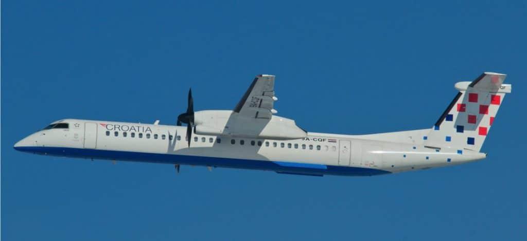 Croatia Airlines Dash8