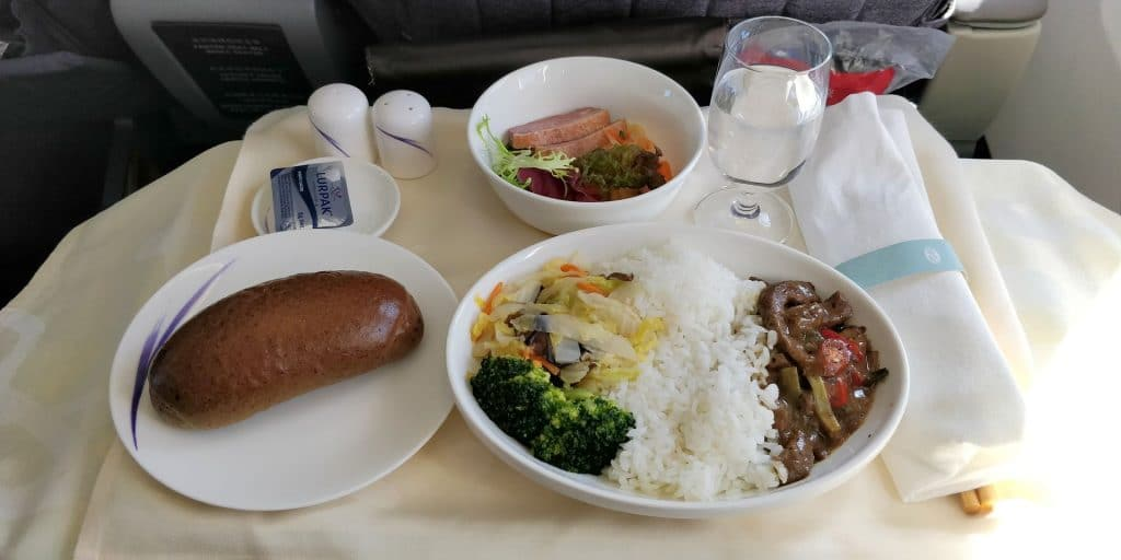 China Airlines Business Class Boeing 737 Essen