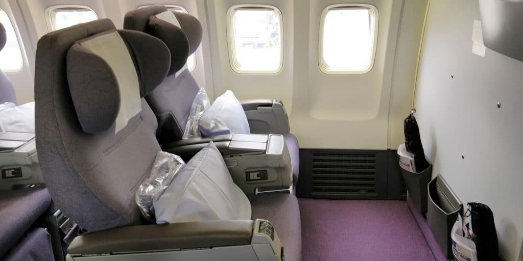 China Airlines Business Class Boeing 737 Sitz 2