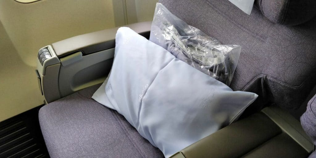 China Airlines Business Class Boeing 737 Sitz 3
