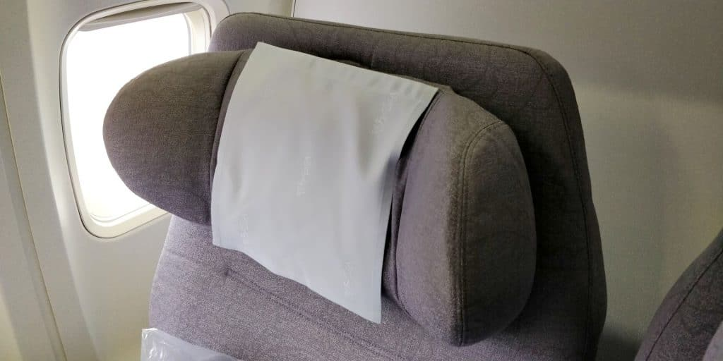 China Airlines Business Class Boeing 737 Sitz 4