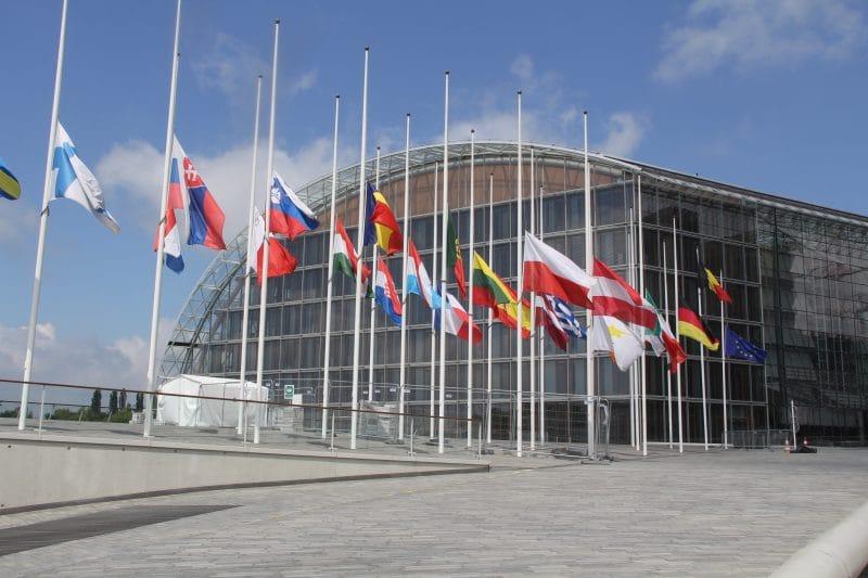EU Flaggen Luxemburg