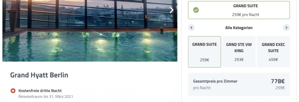 Grand Hyatt Berlin Suite