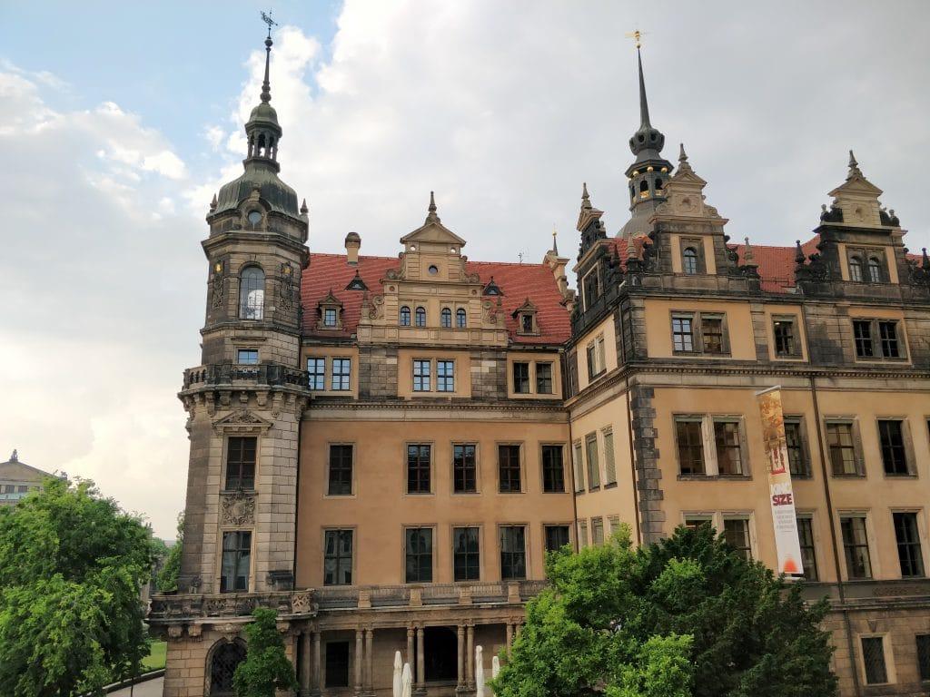 Hotel Taschenbergpalais Kempinski Dresden Ausblick