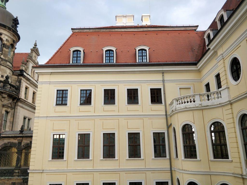 Hotel Taschenbergpalais Kempinski Dresden Bad Ausblick