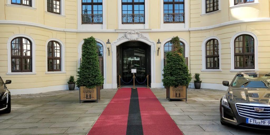 Hotel Taschenbergpalais Kempinski Dresden Eingang 2