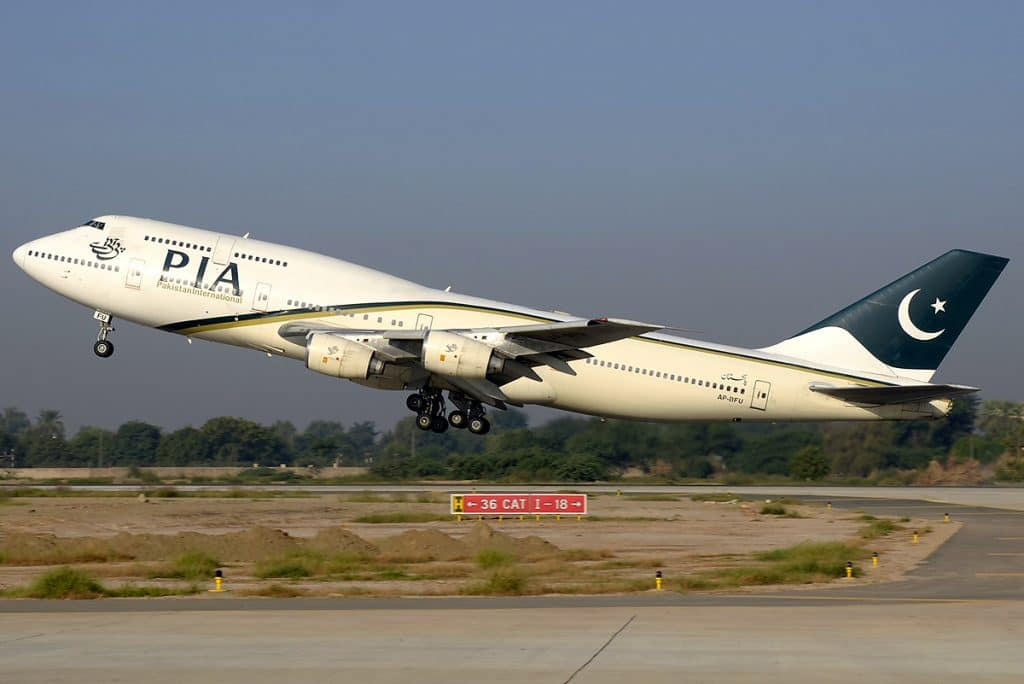 Pakistan International Airlines (PIA) Boeing 747-400