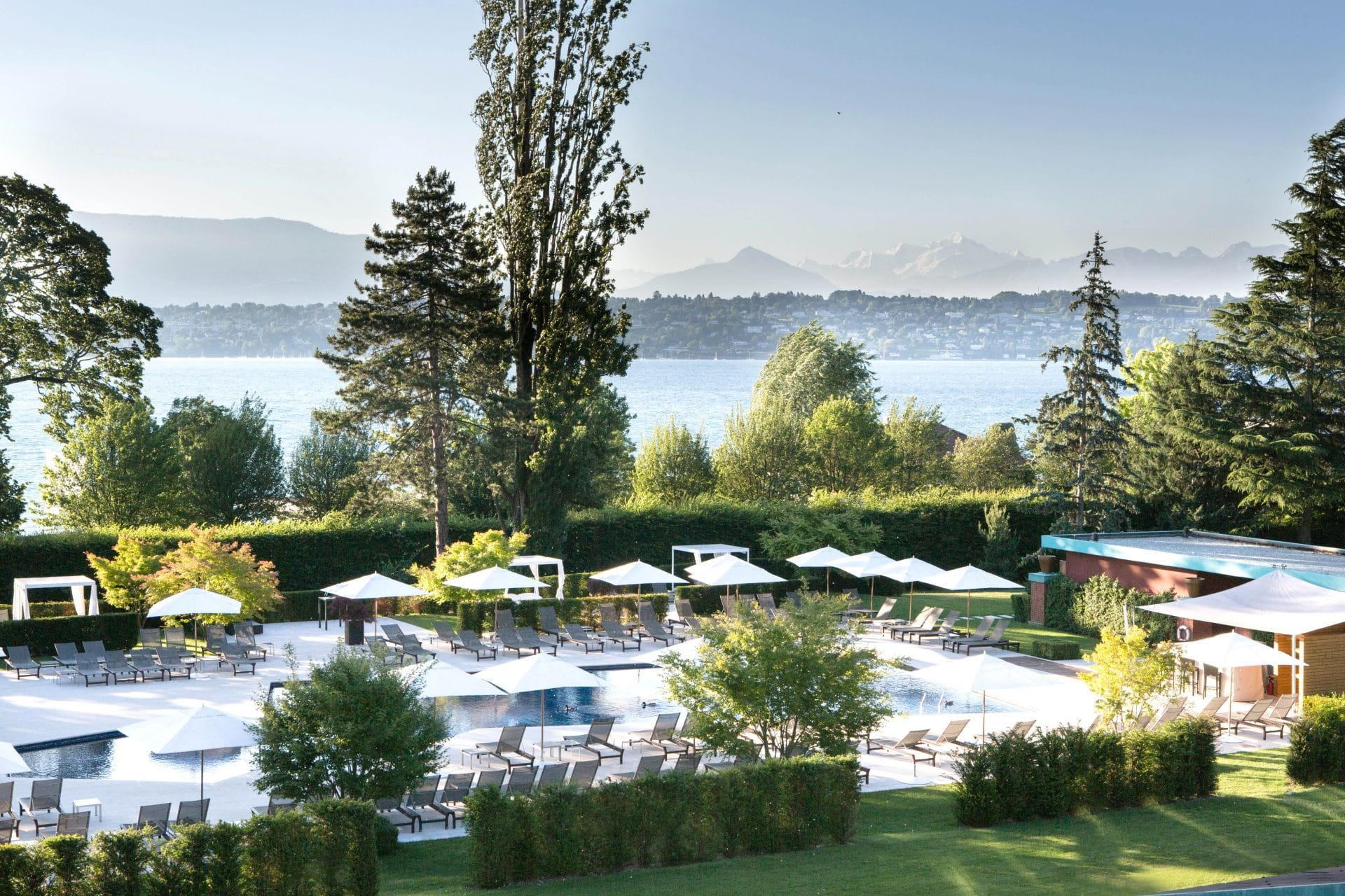 Pool Park La Reserve Geneve 1