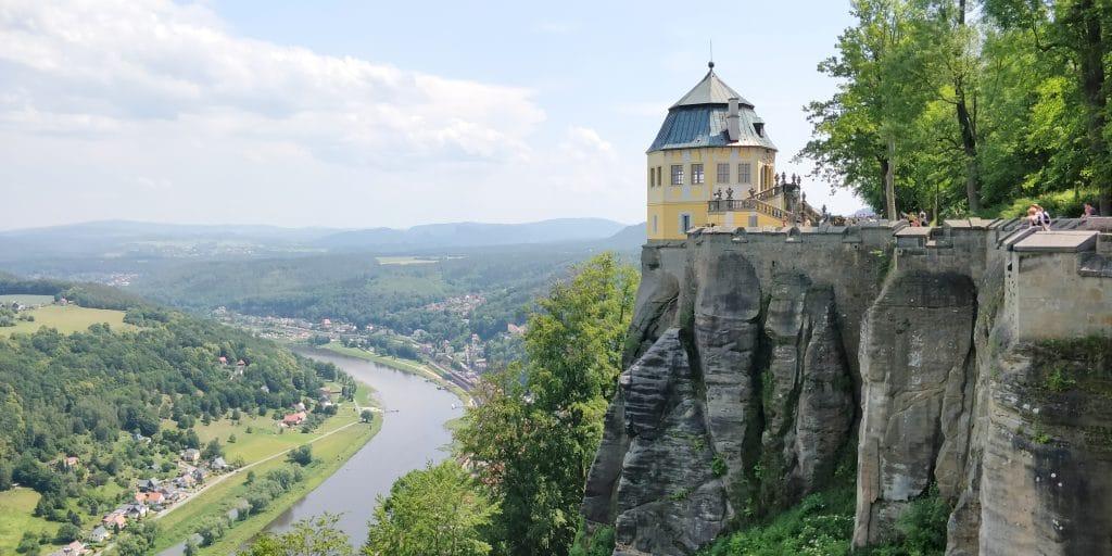 Sächsische Schweiz Festung Königstein