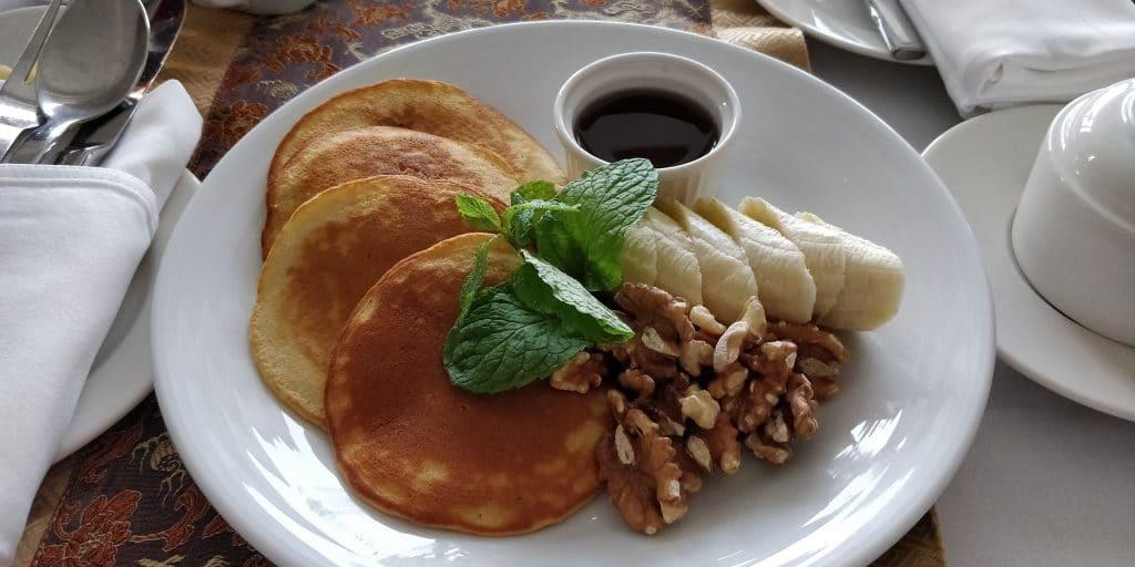 Shangri La Far Eastern Plaza Tainan Room Service Frühstück 4