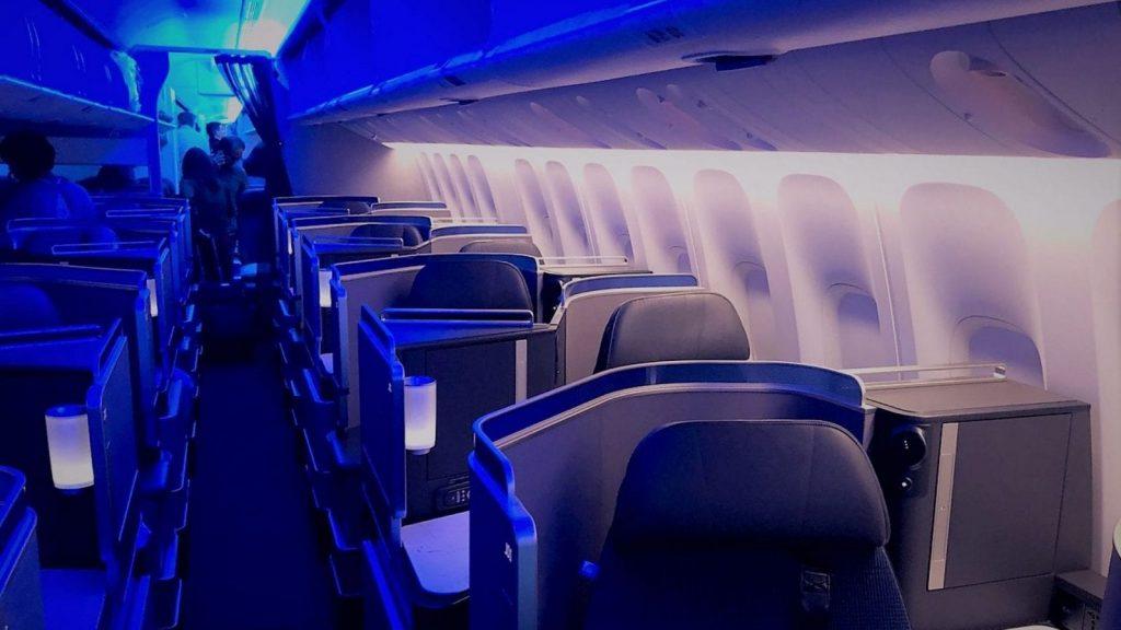 United Polaris Business Class Boeing 767 Kabine Sitze 1600x1200