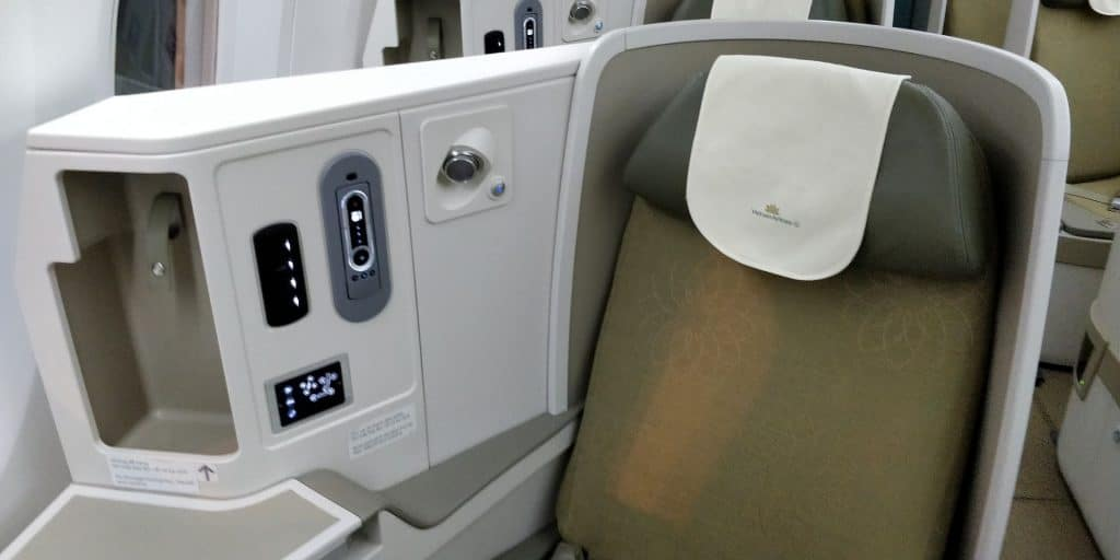 Vietnam Airlines Boeing 787 Business Class Sitz 2