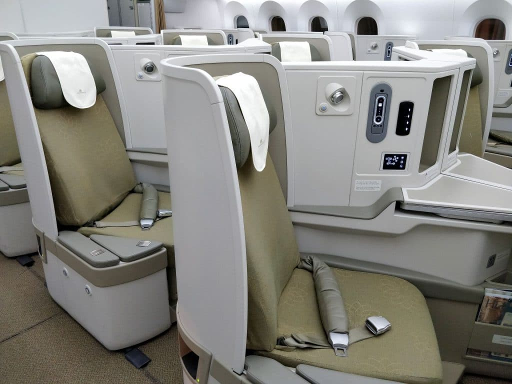 Vietnam Airlines Boeing 787 Business Class Sitz 5