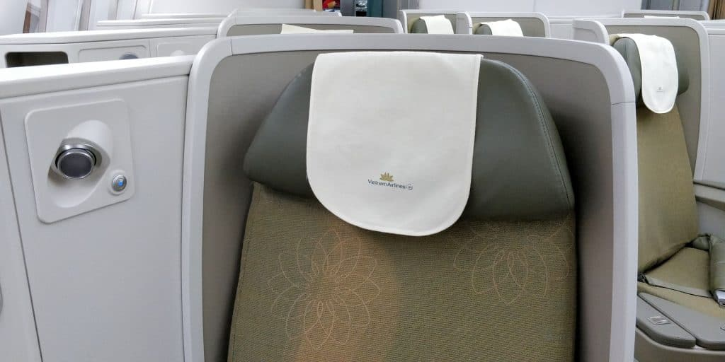 Vietnam Airlines Boeing 787 Business Class Sitz 7