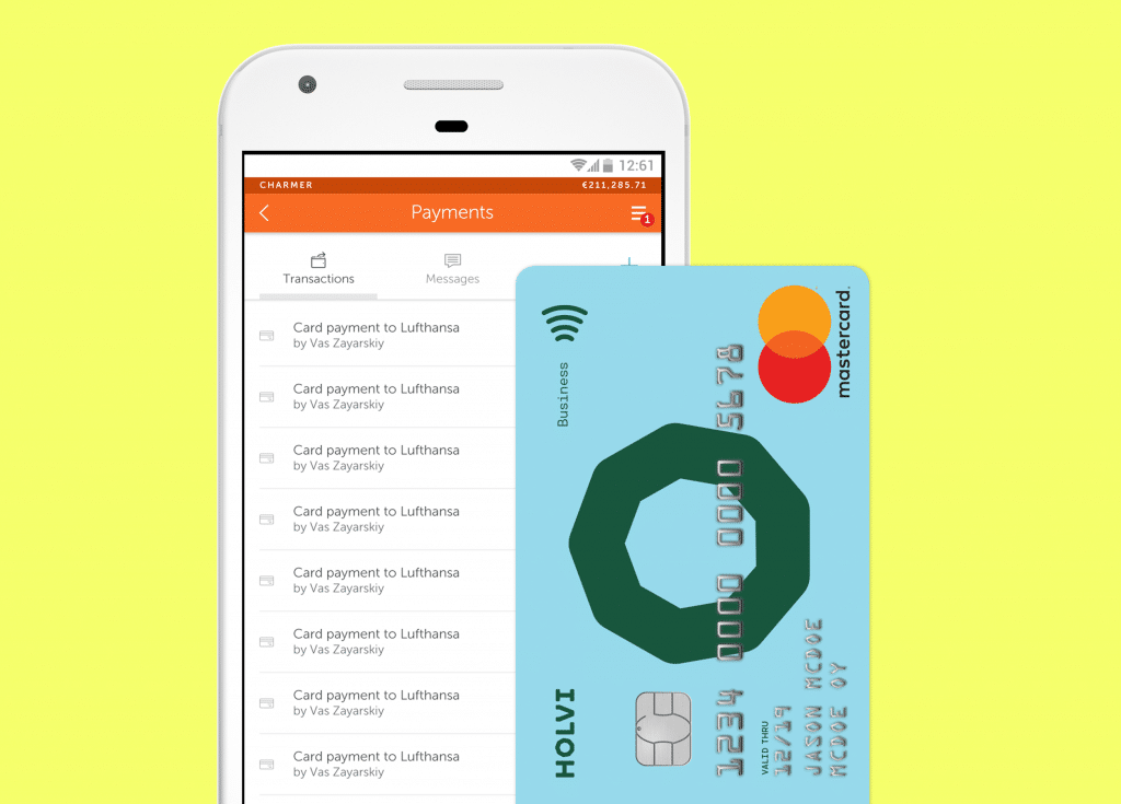 Holvi Business Mastercard