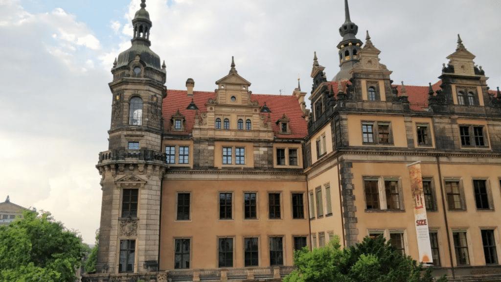 Hotel Taschenbergpalais Dresden Ausblick