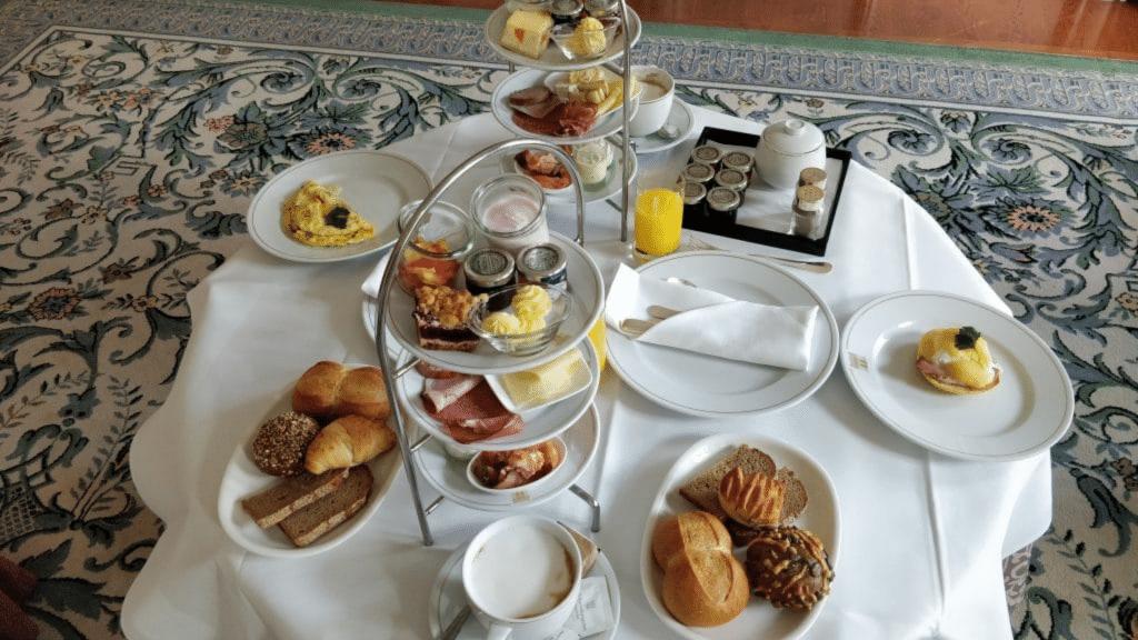 Hotel Taschenbergpalais Dresden Frühstück