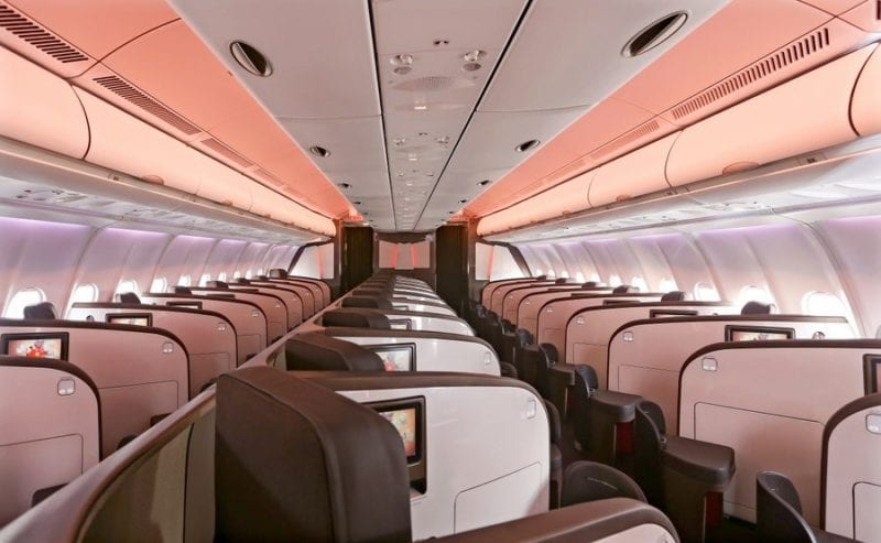 Virgin Atlantic Upper Class Airbus A330 800x493
