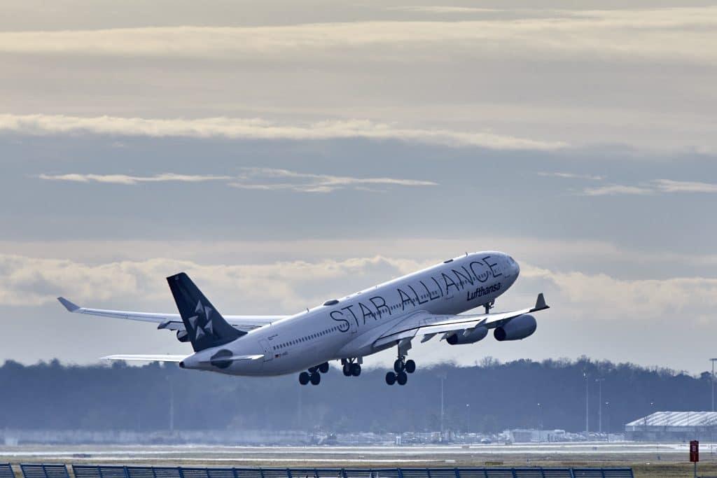 Lufthansa CityLine Airbus A340-300 (Star Alliance)