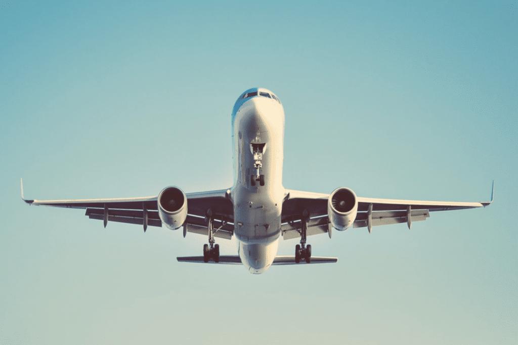KLM Maschine Unterseite