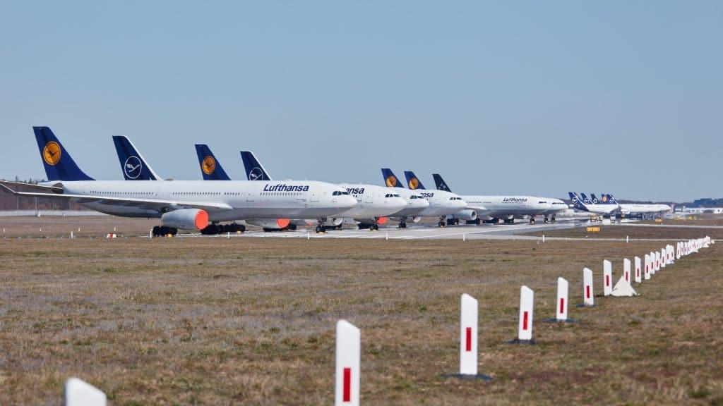 Lufthansa Maschine