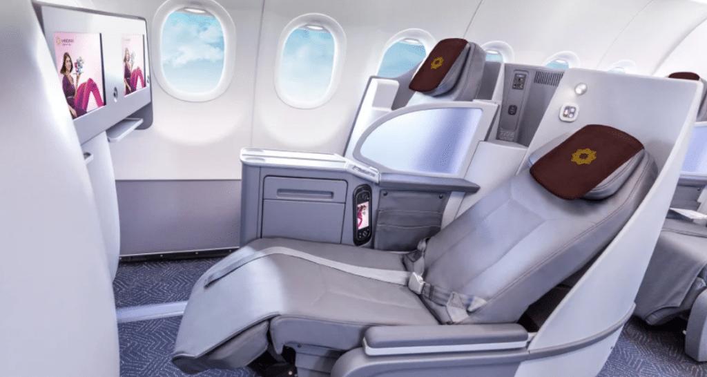 Vistara Business Class Airbus A321neo