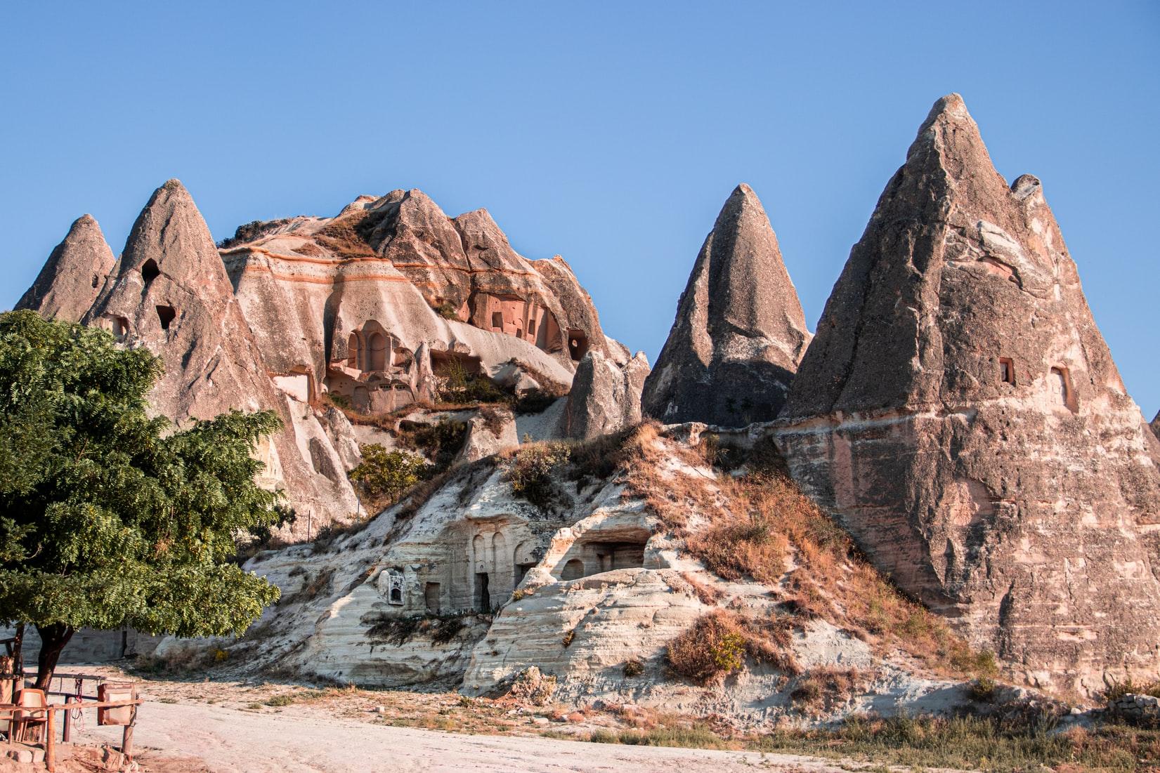 Cappadocia Turkei Landschaft F